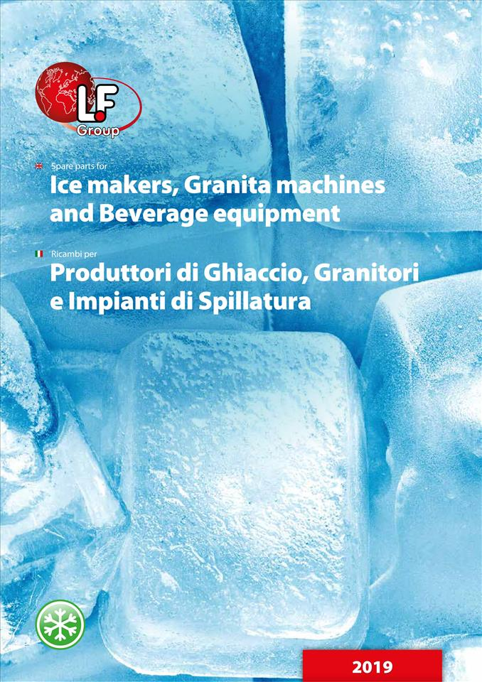 Ice makers, Granita machines, Beverage eq. 02/2019