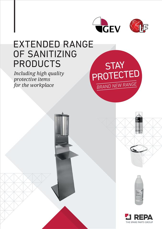 EXTENDED RANGE OF SANITIZING PRODUCTS 09/2020