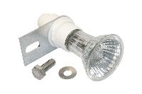 Lamp receptacles and spare parts