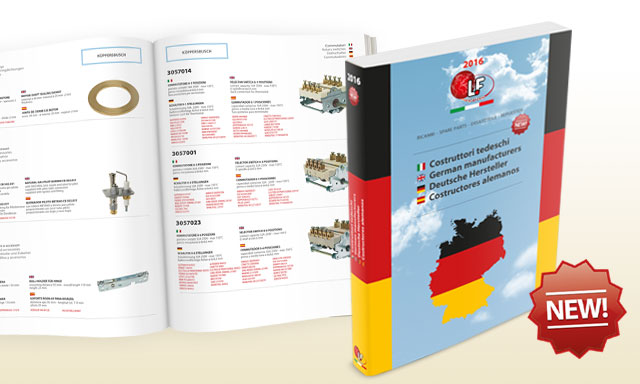 New LF catalogue: german manufacturers